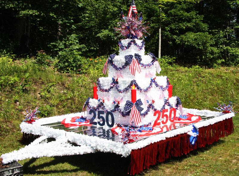 How To Make A Cake Float For A Parade